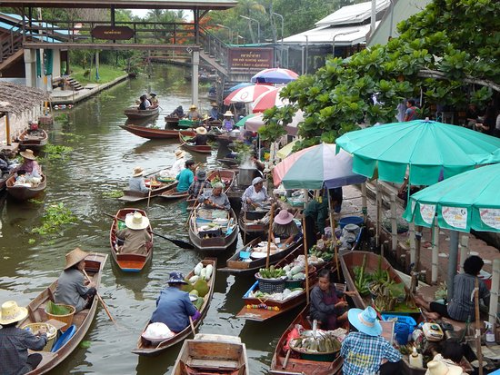 Floating Markets in The World